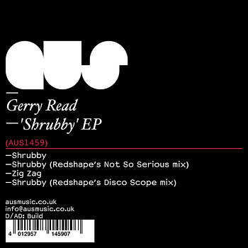 Cover art - Gerry Read: Shrubby EP