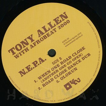 Cover art - Tony Allen With Afrobeat 2000: N.E.P.A.