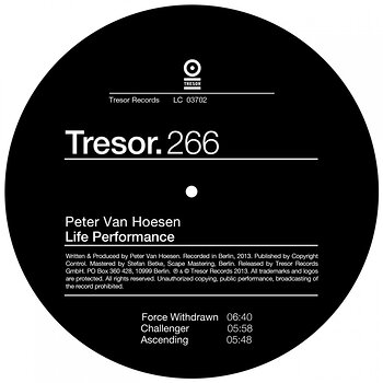 Cover art - Peter Van Hoesen: Life Performance EP