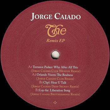 Cover art - Jorge Caiado: The Remix EP