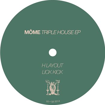 Cover art - Môme: Triple House EP