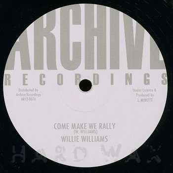 Cover art - Willie Williams: Come Make We Rally