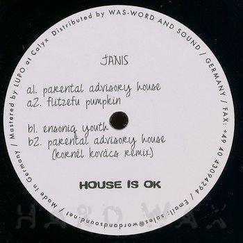 Cover art - Janis: Parental Advisory House EP