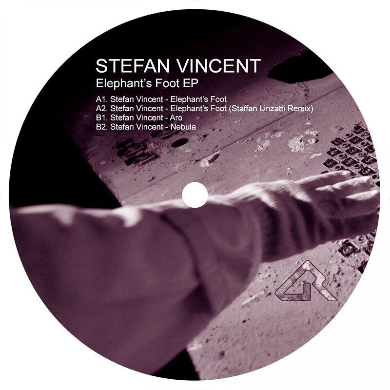 Cover art - Stefan Vincent: Elephant's Foot