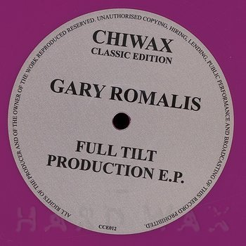 Cover art - Gary Romalis: Full Tilt Production EP