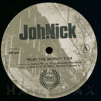 Cover art - Johnick: Play The World
