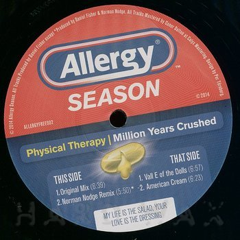 Cover art - Physical Therapy: Million Years Crushed
