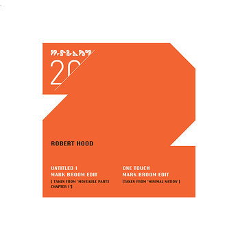 Cover art - Robert Hood: Mark Broom Edits