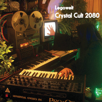 Cover art - Legowelt: Crystal Cult 2080
