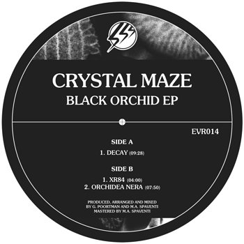 Cover art - Crystal Maze: Black Orchid EP