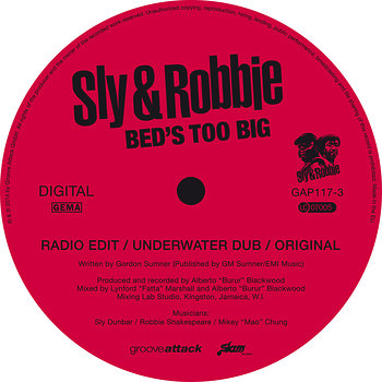 Cover art - Sly & Robbie: Bed's Too Big