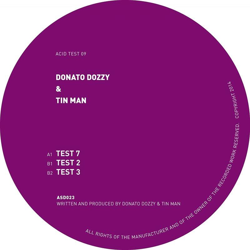Cover art - Donato Dozzy & Tin Man: Acid Test 09