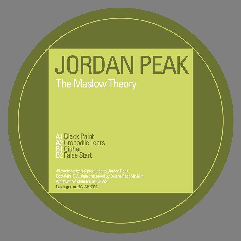 Cover art - Jordan Peak: The Maslow Theory