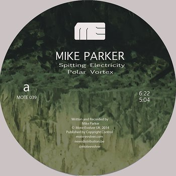 Cover art - Mike Parker: Spitting Electricity