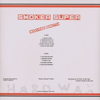 Cover art - Wayne Smith: Smoker Super