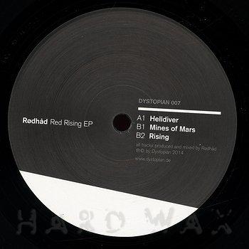 Cover art - Rødhåd: Red Rising EP