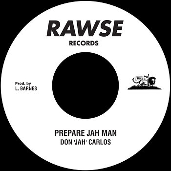 "Cover art - Don ""Jah"" Carlos: Prepare Jah Man"