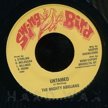 Cover art - The Mighty Abidjans: Untamed