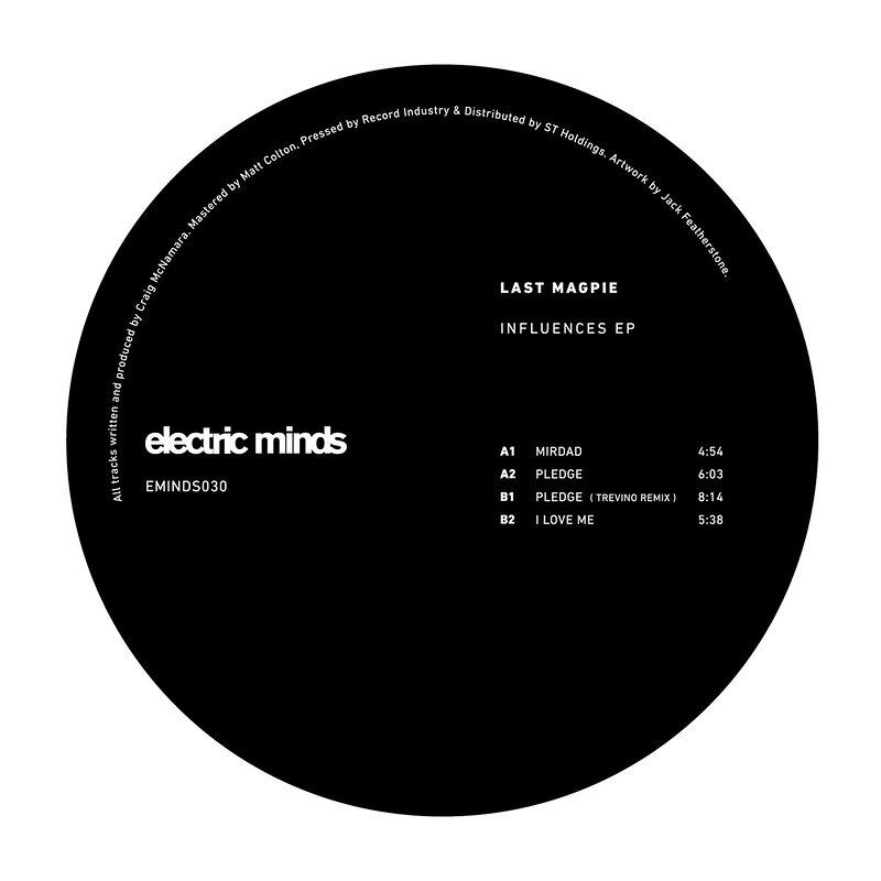Cover art - Last Magpie: Influences EP