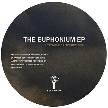 Cover art - Patrice Scott: The Euphonium EP