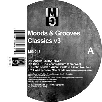 Cover art - Various Artists: Moods & Grooves Classics V3
