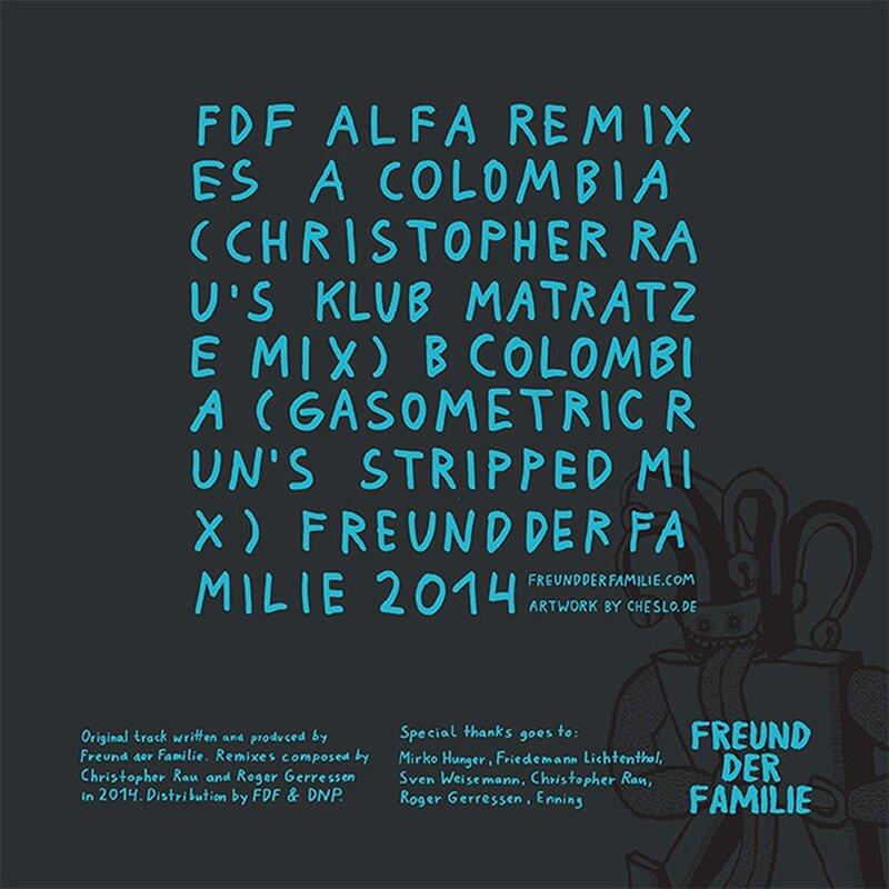 Freund der Familie: Alfa Remixes #1 - Hard Wax