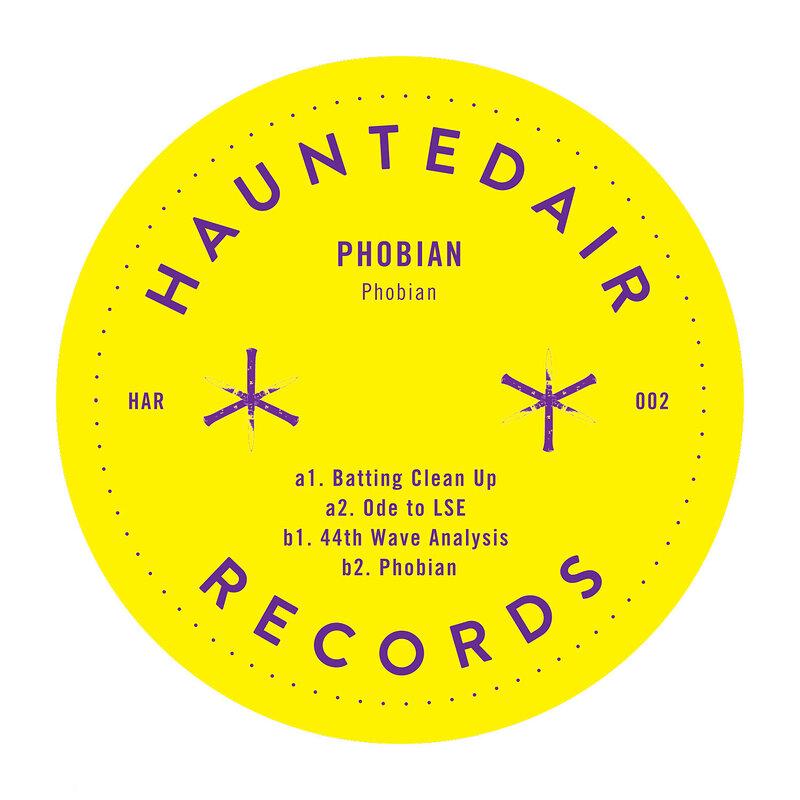 Cover art - Phobian: Phobian