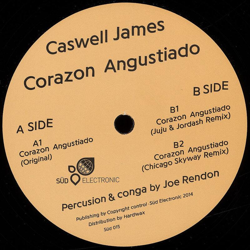 Cover art - Caswell James: Corazon Angustiado