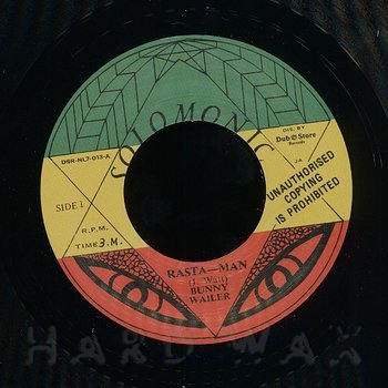 Cover art - Bunny Wailer: Rasta-Man