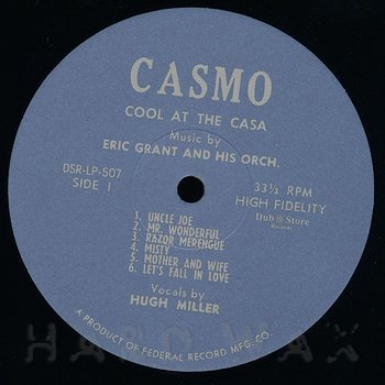 Cover art - The Eric Grant Orchestra: Cool At The Casa Montego