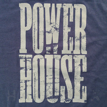 Cover art - Organic T-Shirt, Size S: Navy, gray print (positive)