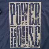Cover art - Organic T-Shirt, Size S: Navy, gray print (negative)