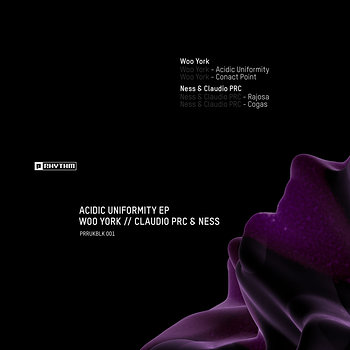 Cover art - Woo York / Ness & Claudio Prc: Acidic Uniformity EP
