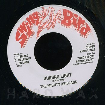 Cover art - The Mighty Abidjans: Guiding Light