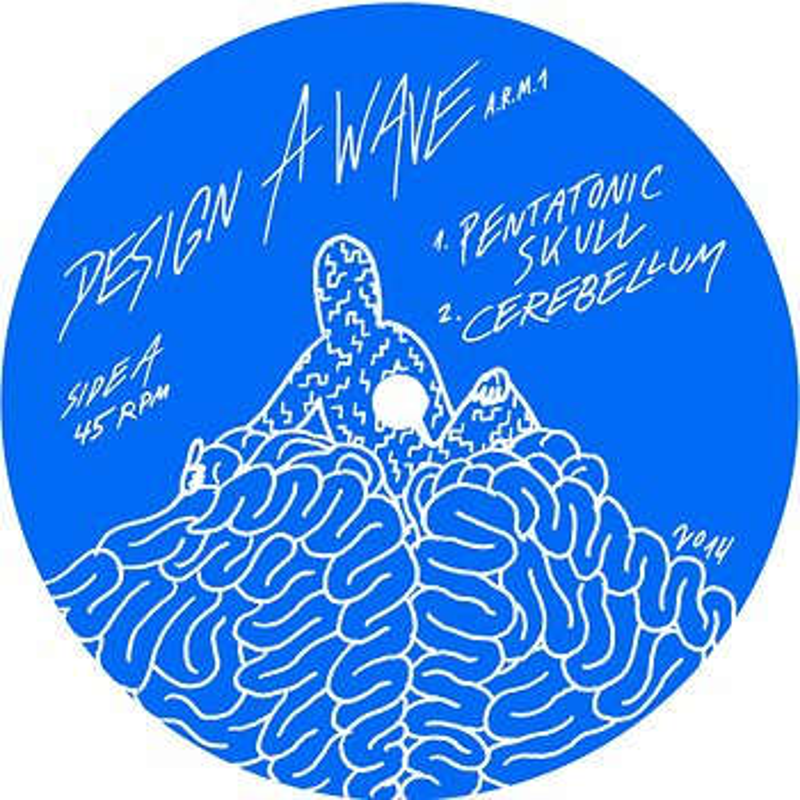 Cover art - Design A Wave: A.R.M. I