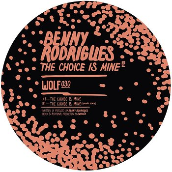 Cover art - Benny Rodrigues: The Choice Is Mine