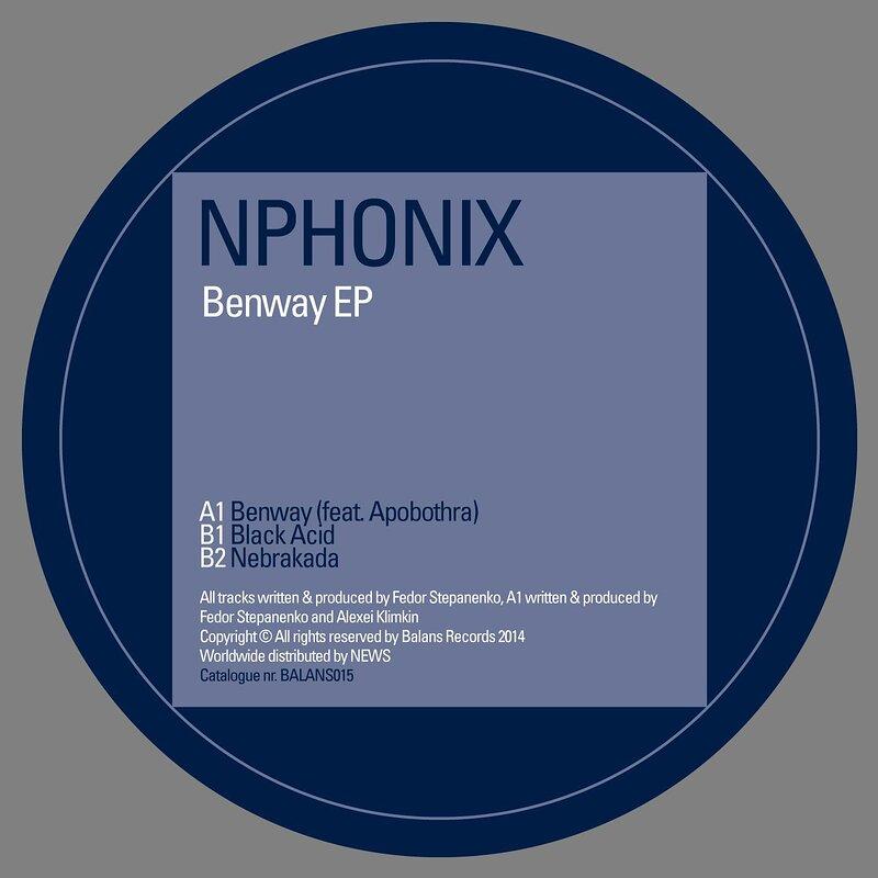 Cover art - Nphonix: Benway EP