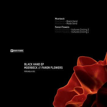 Cover art - Moerbeck / Fanon Flowers: Black Hand EP