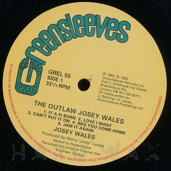 Cover art - Josey Wales: The Outlaw