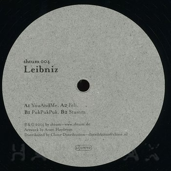 Cover art - Leibniz: YouAndMe
