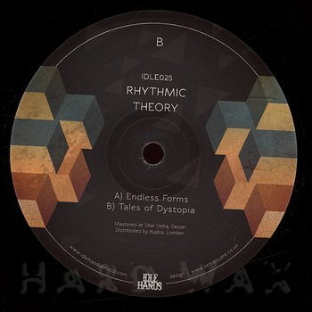 Cover art - Rhythmic Theory: Endless Forms