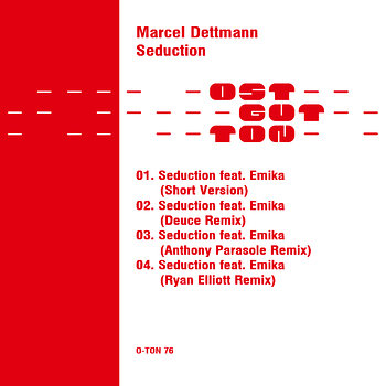 Cover art - Marcel Dettmann: Seduction