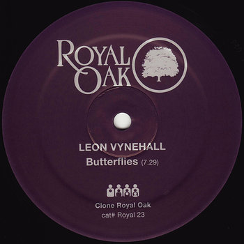 Cover art - Leon Vynehall: Butterflies