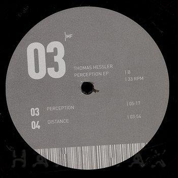 Cover art - Thomas Hessler: Perception EP