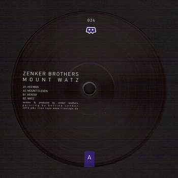 Cover art - Zenker Brothers: Mount Watz