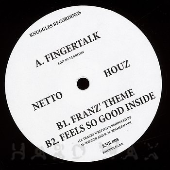 Cover art - Netto Houz: Fingertalk