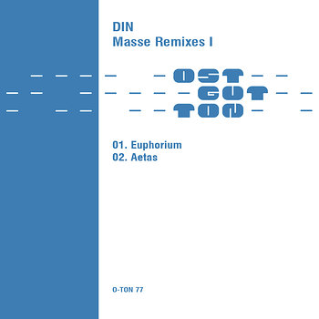 Cover art - Din: Masse Remixes I