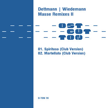 Cover art - Dettmann / Wiedemann: Masse Remixes II