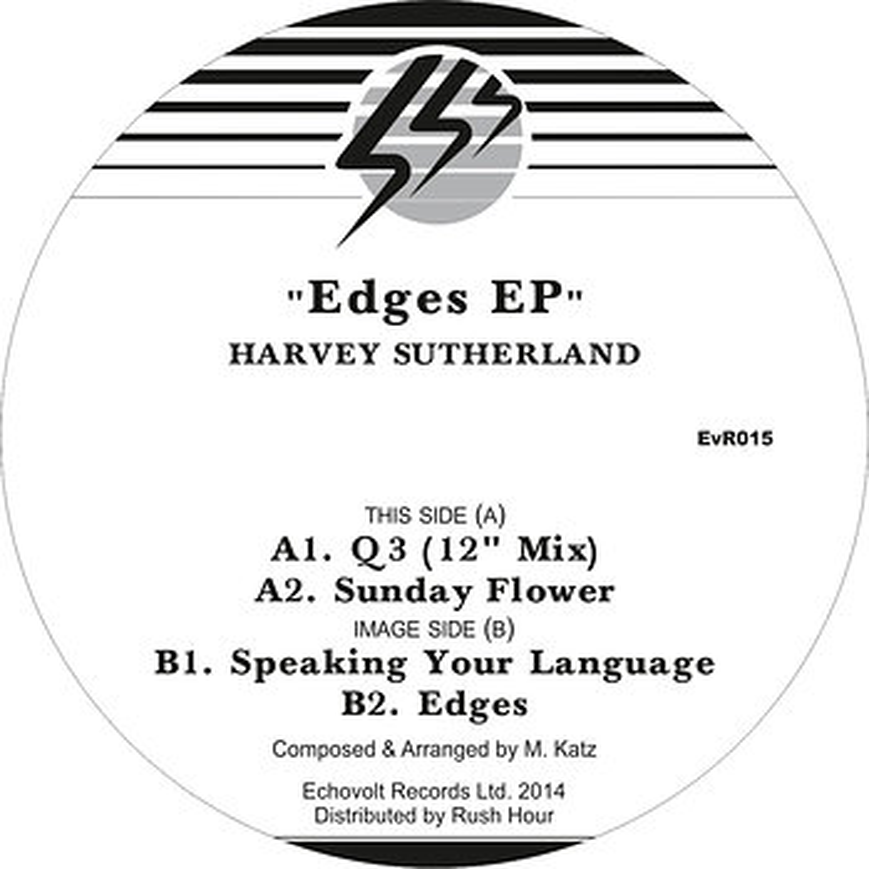 Cover art - Harvey Sutherland: Edges EP