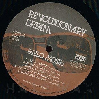 Cover art - Pablo Moses: Revolutionary Dream